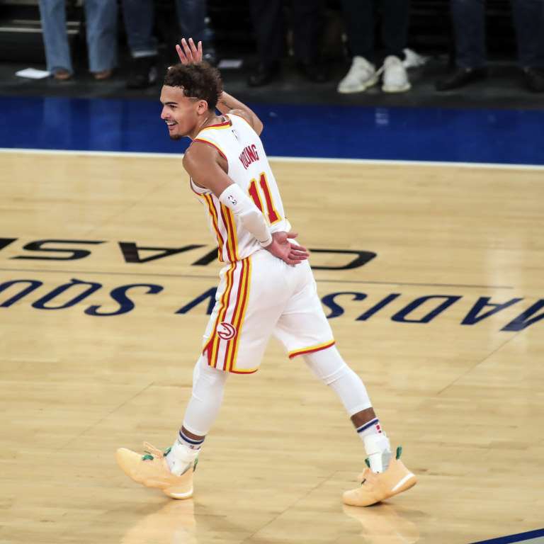Trae Young Returns to New York