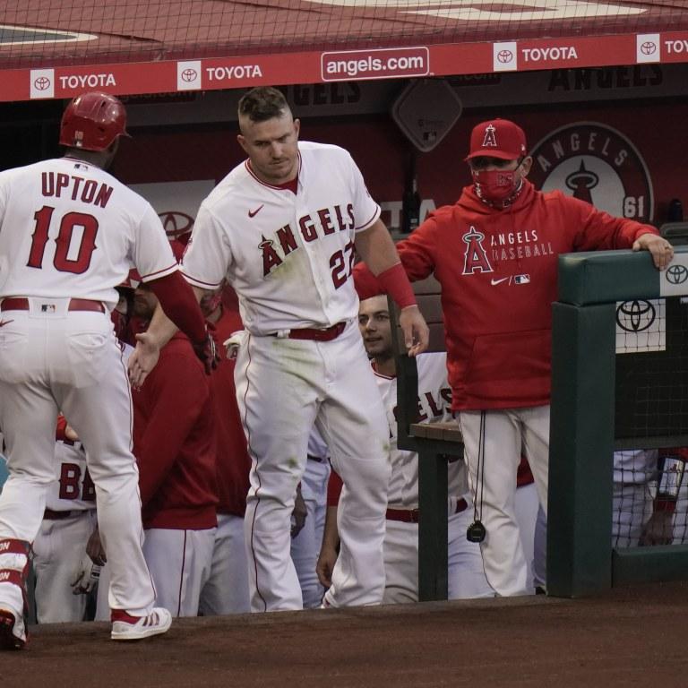 Dodgers Angels Baseball