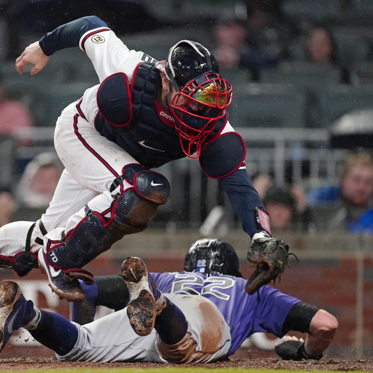 APTOPIX Rockies Braves Baseball