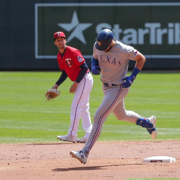 Joey Gallo - Texas Rangers at Minnesota Twins - 5/6/21