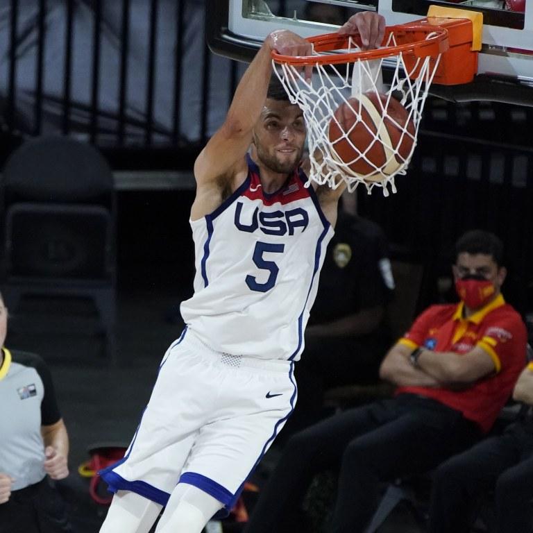 Spain US Basketball