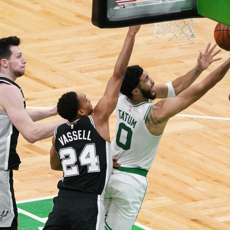 Jayson Tatum - San Antonio Spurs at Boston Celtics - 4/30/21