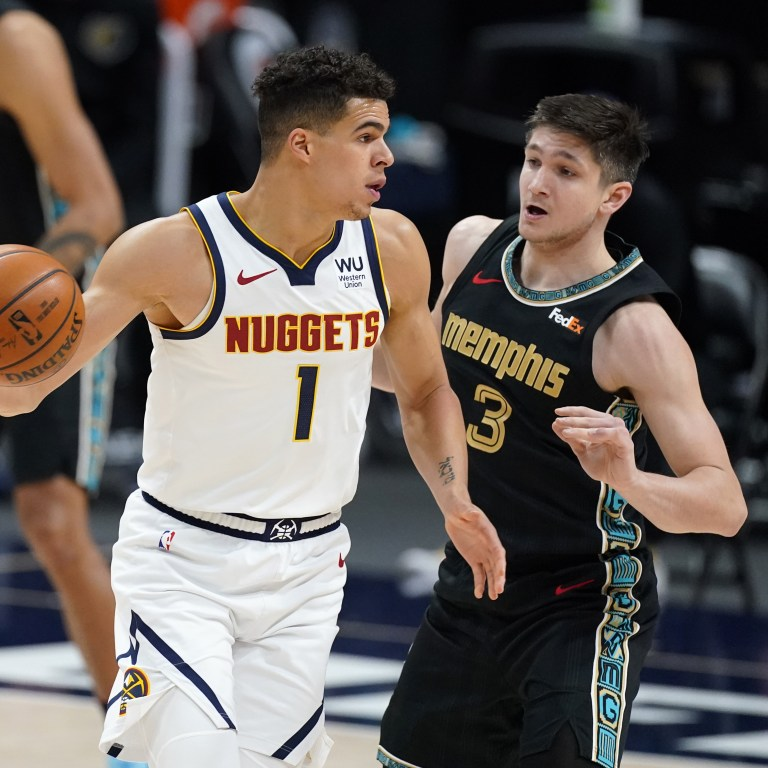 Grizzlies Nuggets Basketball