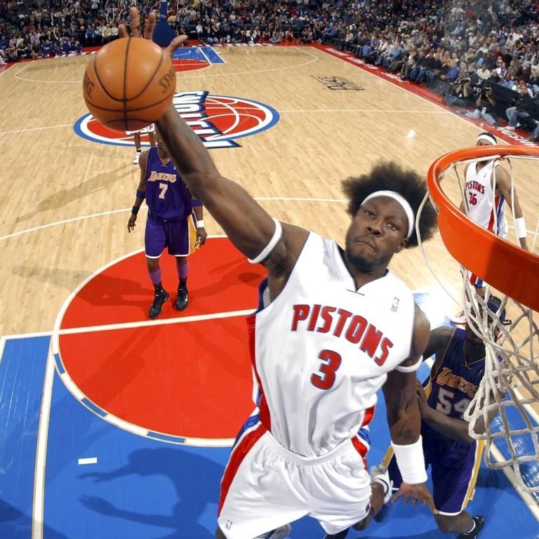 Ben Wallace - Detroit Pistons Basketball