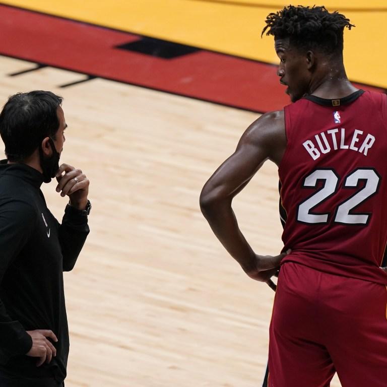 Bulls Heat Basketball