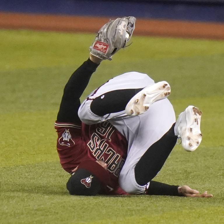 Diamondbacks Marlins Baseball