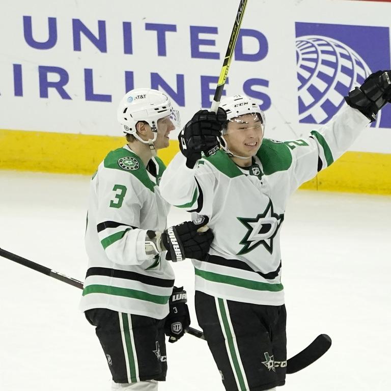 Stars Blackhawks Hockey