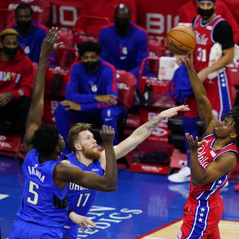 Magic 76ers Basketball