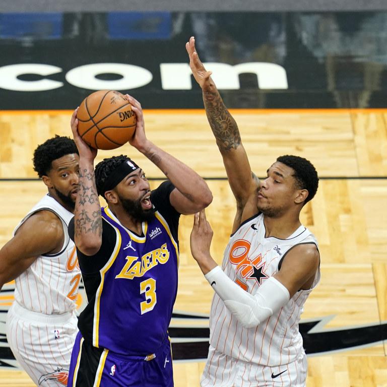 Lakers Magic Basketball