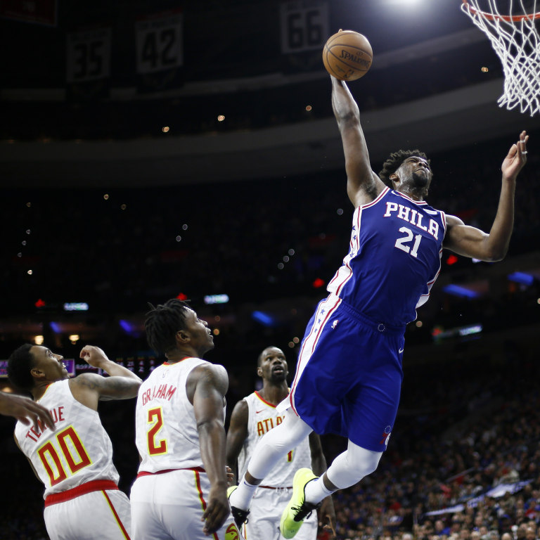 76ers Embiid Extension Basketball