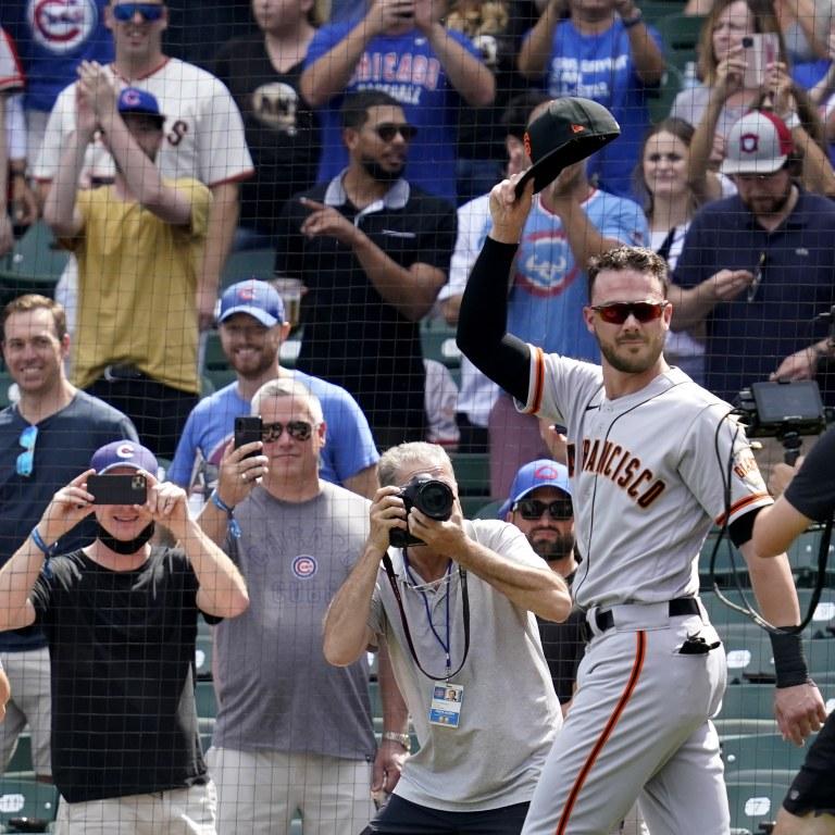 Giants Cubs Baseball