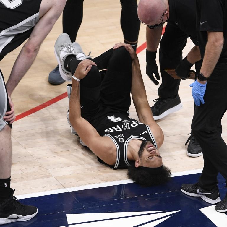 Spurs Wizards Basketball