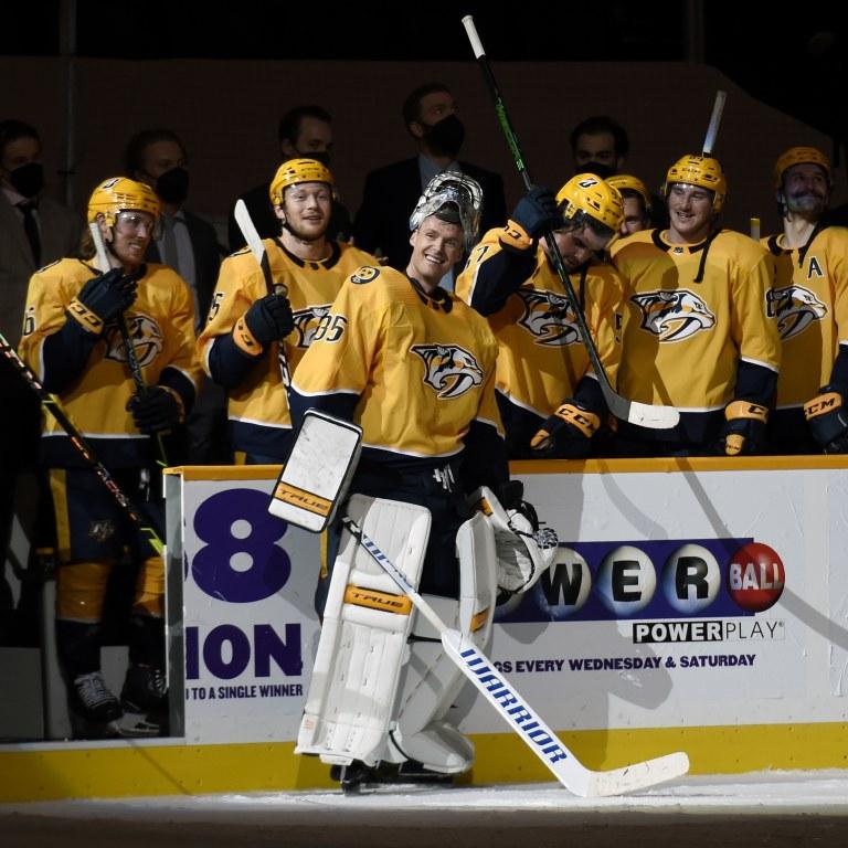 Predators Rinne Hockey