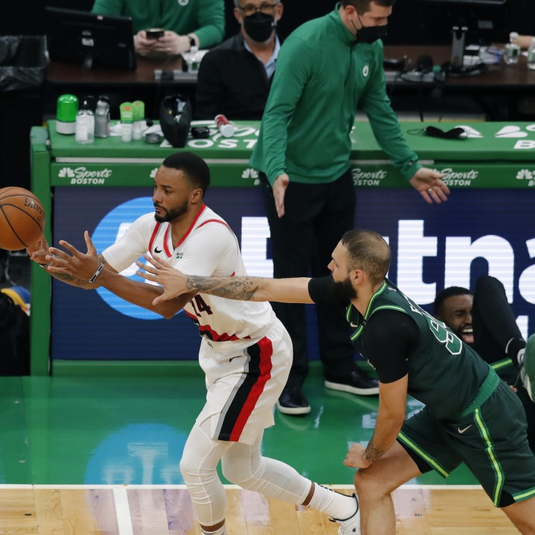 Trail Blazers Celtics Basketball