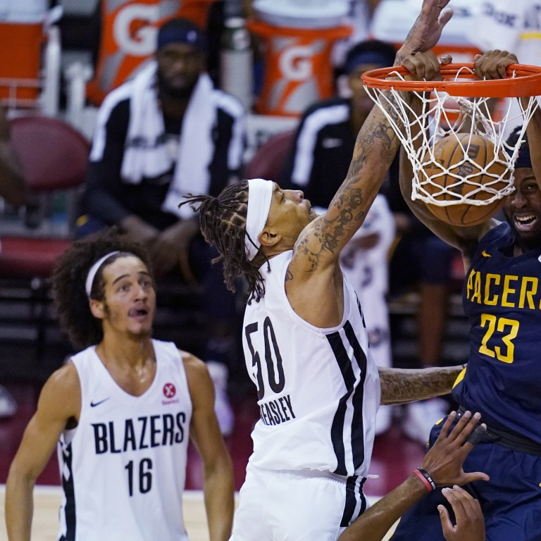 Pacers Trail Blazers Basketball