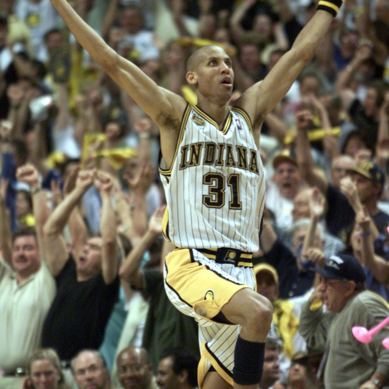 Reggie Miller, Indiana Pacers, 1987-2005
