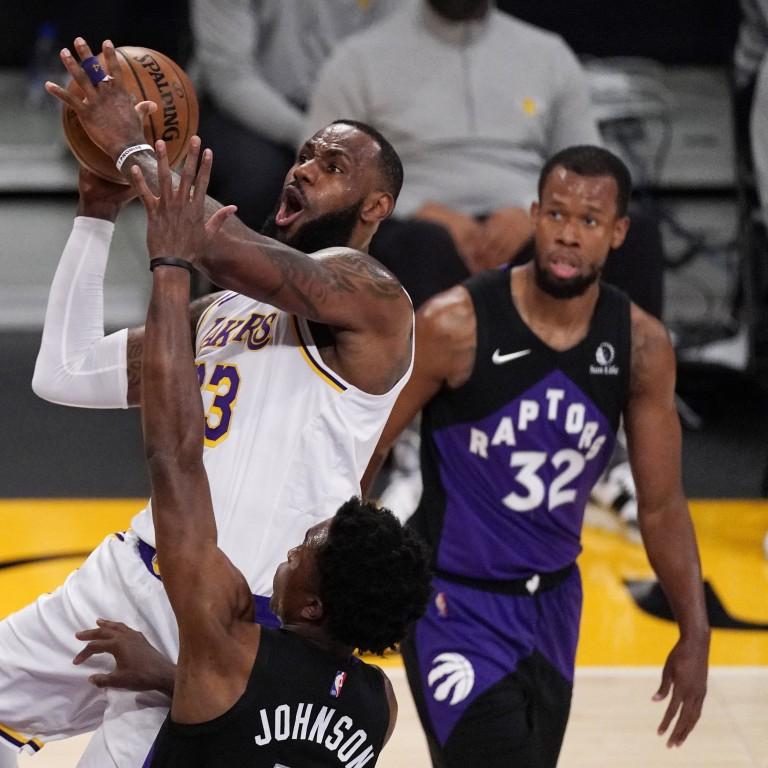Raptors Lakers Basketball