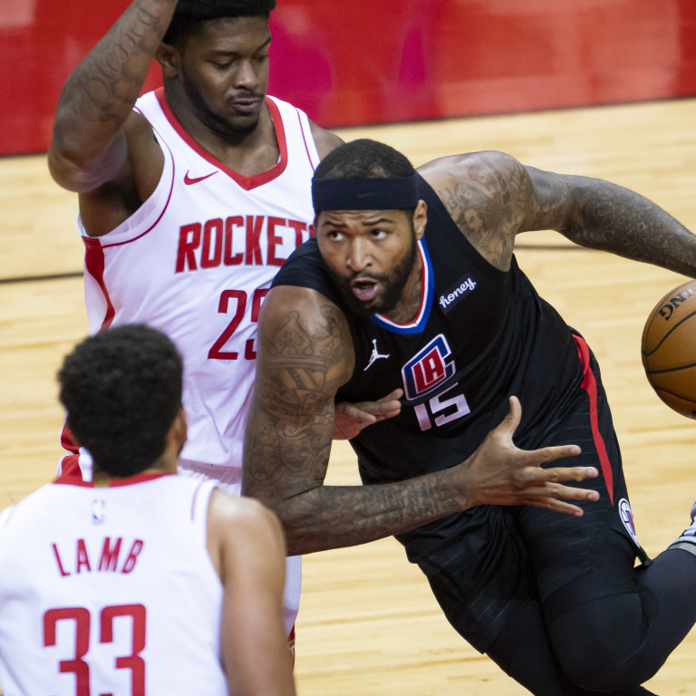 Clippers Rockets Basketball