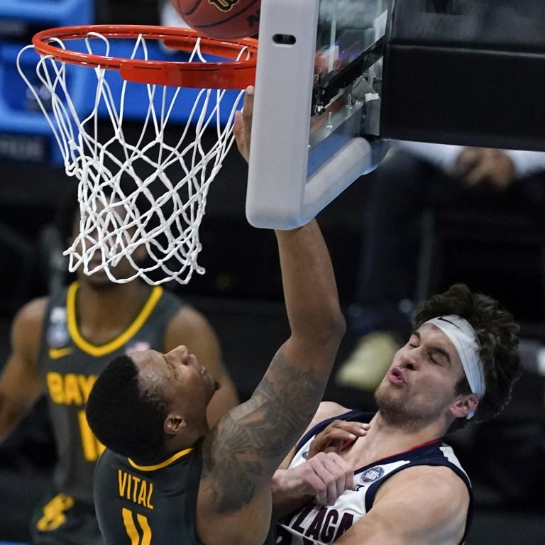 NCAA Final Four Baylor Gonzaga Basketball