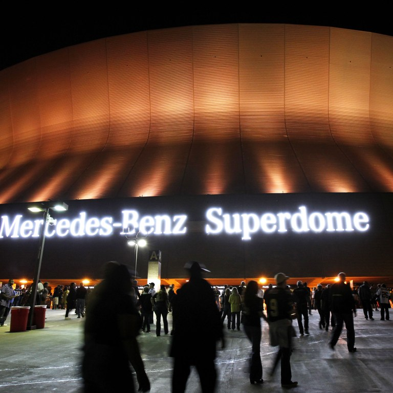 Superdome Naming Rights Football