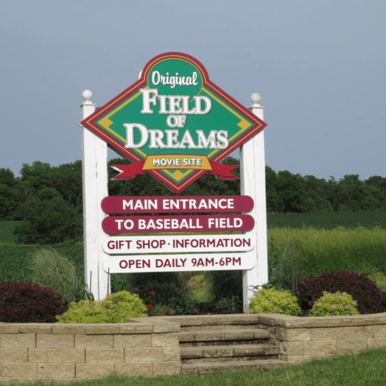 """The """"Field of Dreams"""" movie set is a popular tourist attraction in Iowa. (Gordon Edes)"""