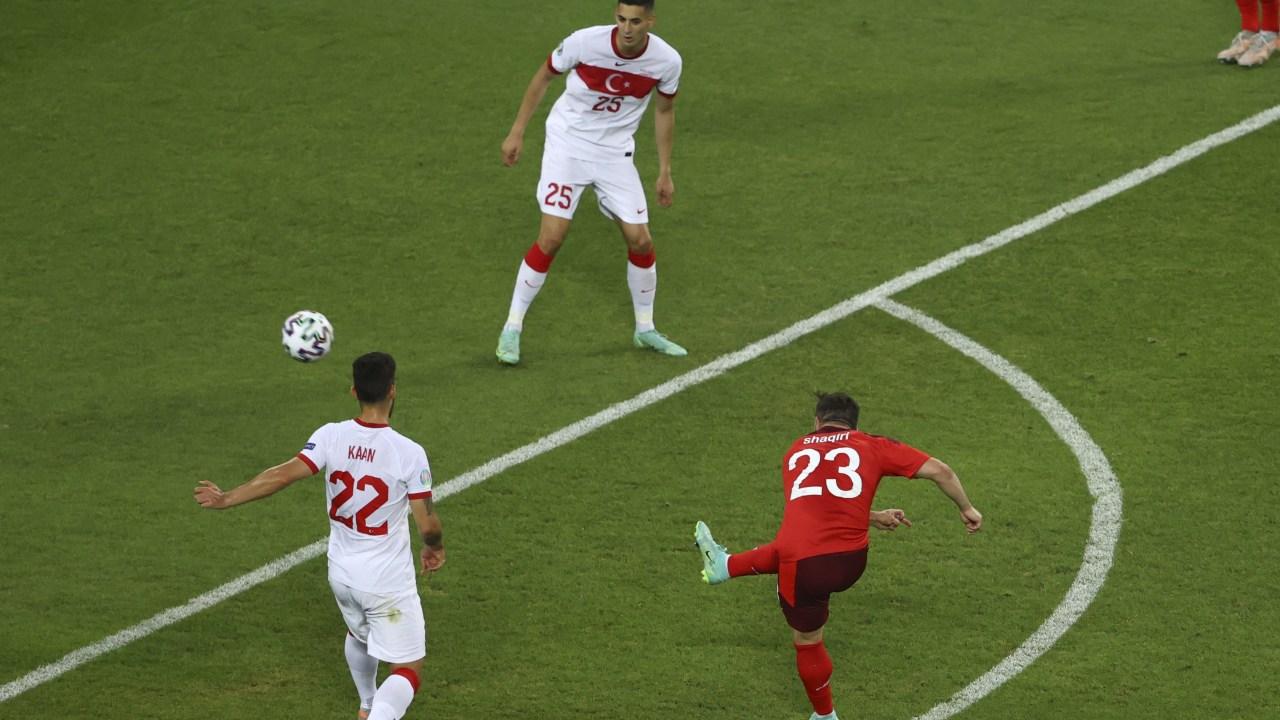 Shaqiri scores 2, Switzerland beats Turkey 3-1 at Euro 2020 National News -  Bally Sports