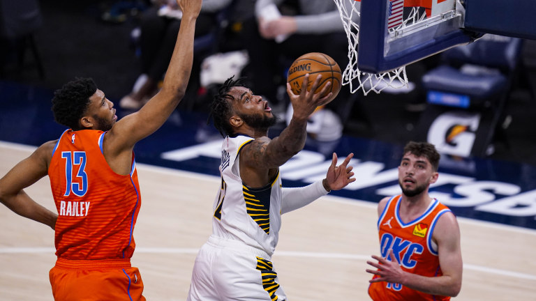 Thunder Pacers Basketball