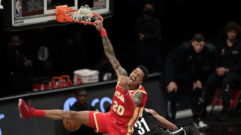 Hawks Collins Contract Basketball