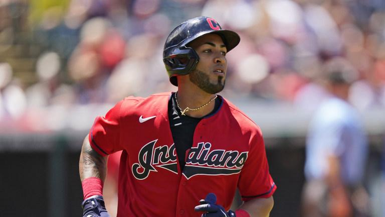 Braves Indians Trade Baseball