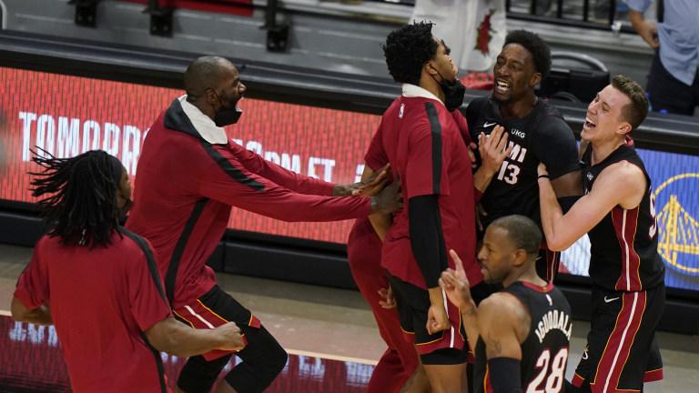 Nets Heat Basketball