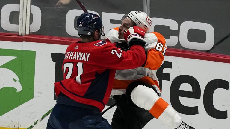 Flyers Capitals Hockey