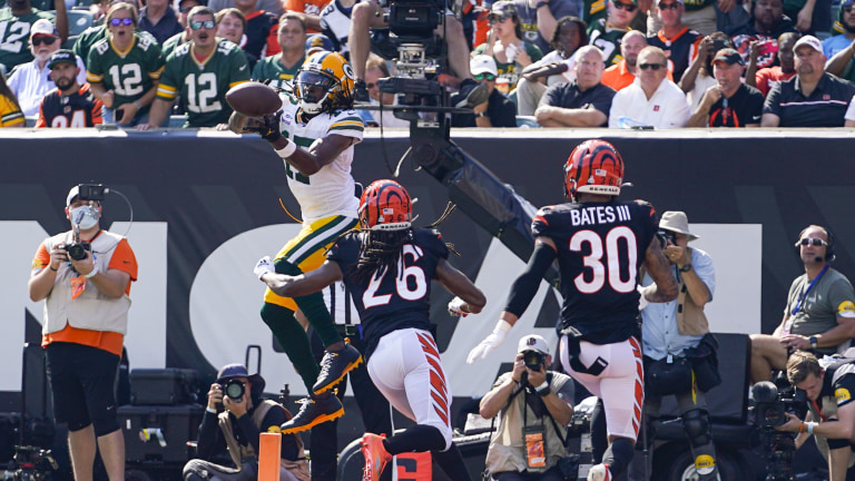 Packers Bengals Football