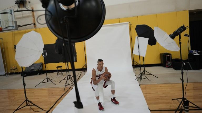 Miami Heat Media Day Basketball