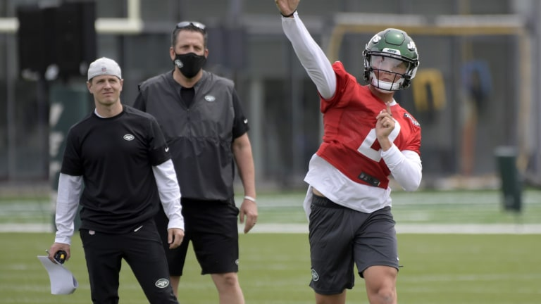 CORRECTION Jets Rookie Camp Football
