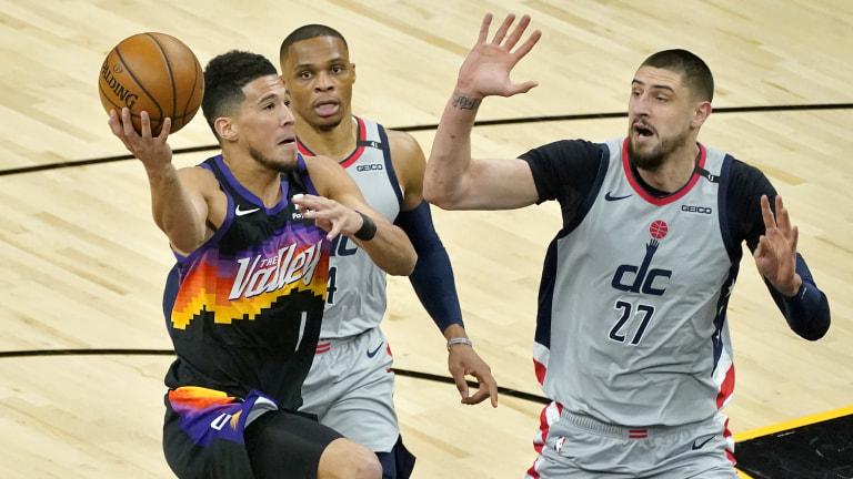Wizards Suns Basketball
