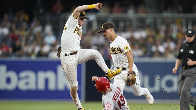 Angels Padres Baseball