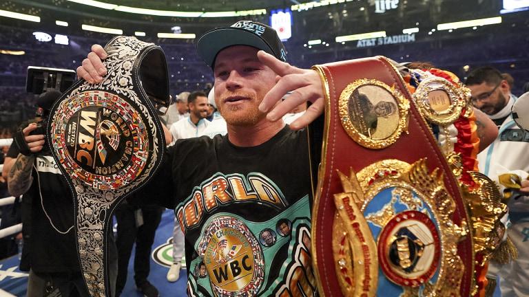 Alvarez Saunders Boxing