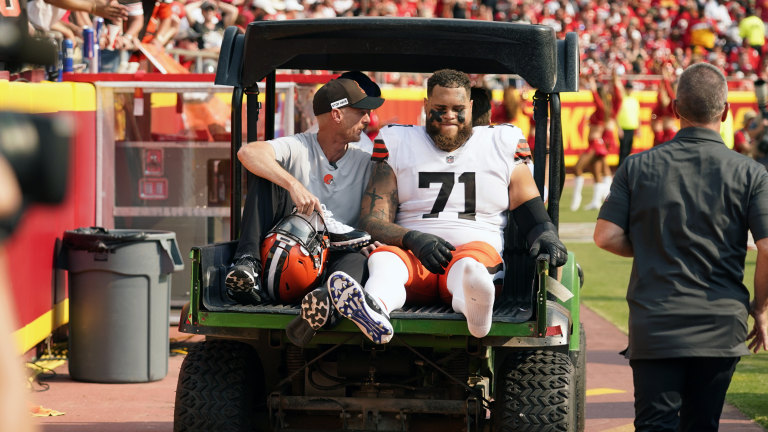 Browns-Injuries Football