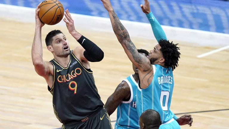 Hornets Bulls Basketball