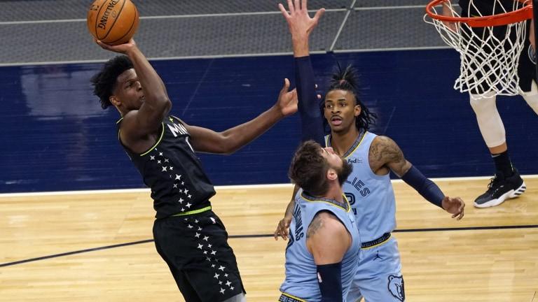 Grizzlies Timberwolves Basketball