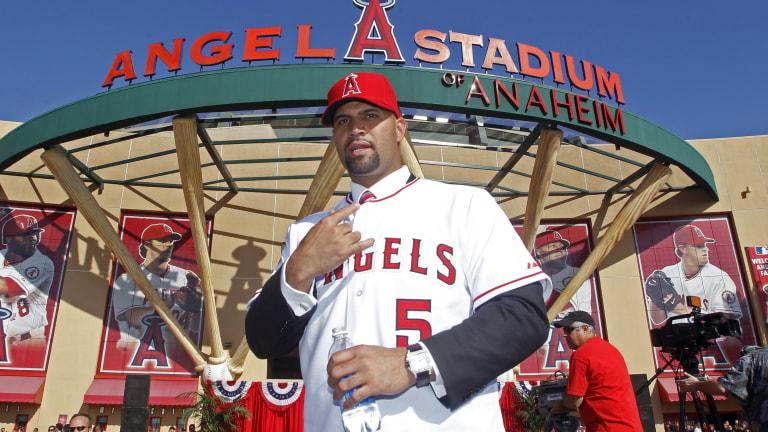 Angels Pujols Baseball