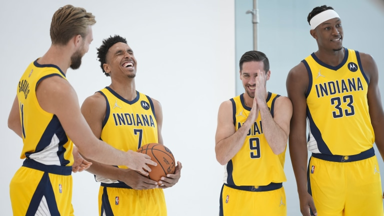 Pacers Media Day Basketball