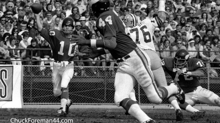 Chuck Foreman, former Vikings running back