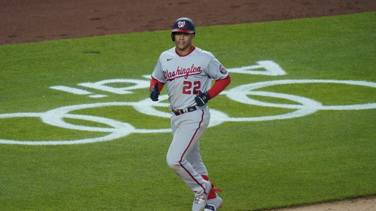 Nationals Yankees Baseball