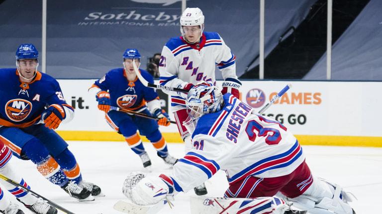 Rangers Islanders Hockey