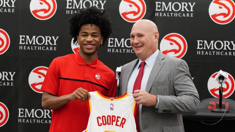 NBA Draft Hawks Basketball