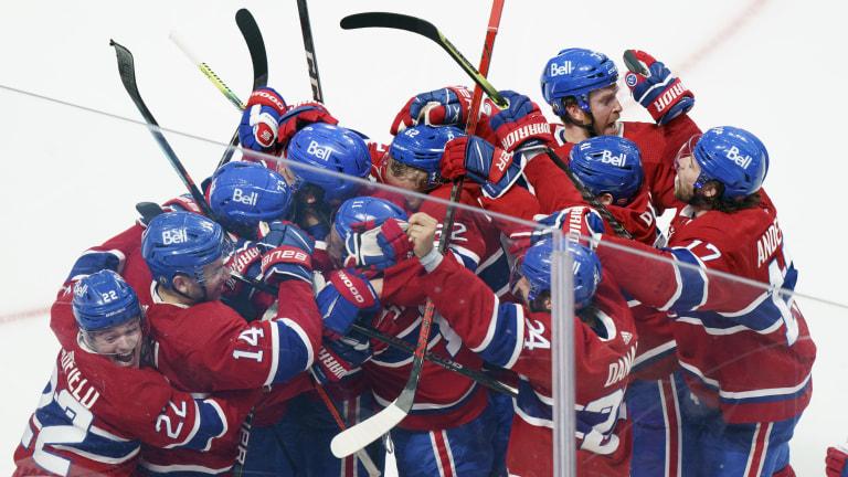 Jets Canadiens Hockey