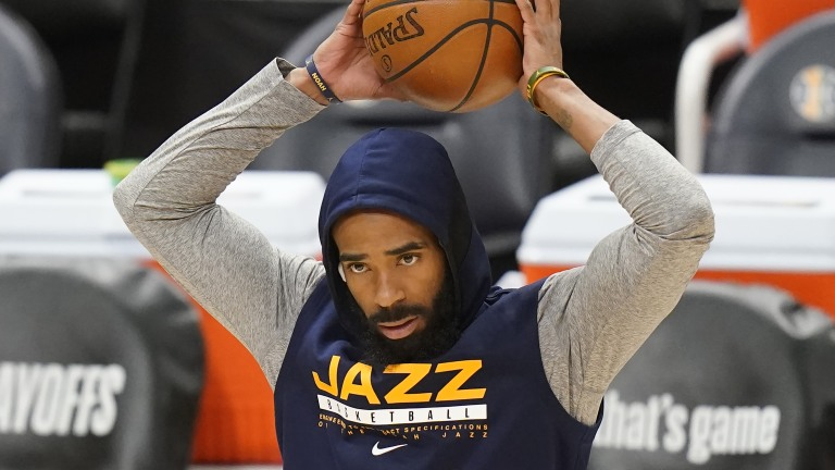 Clippers Jazz Basketball