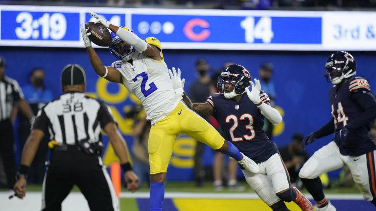 APTOPIX Bears Rams Football