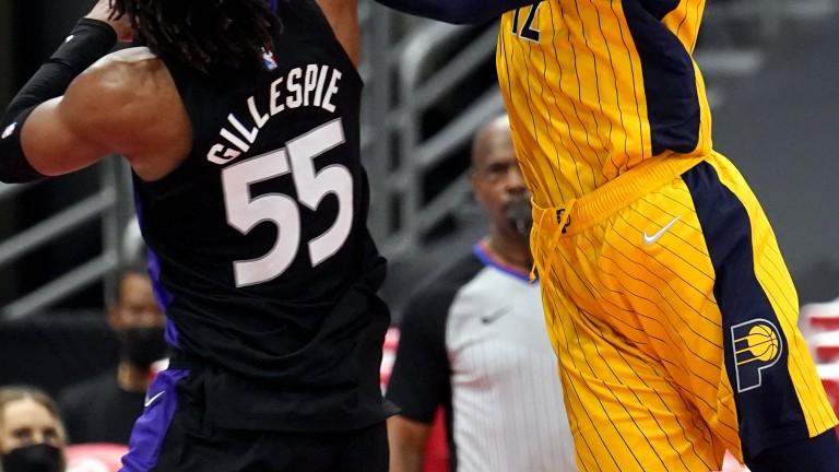 Pacers Raptors Basketball